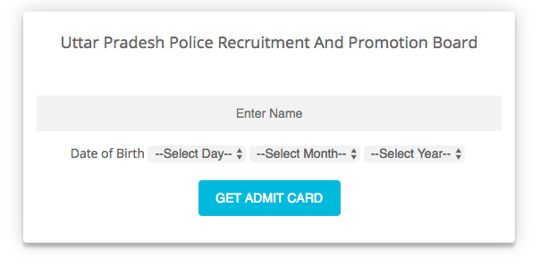up police admit card 4eno.in
